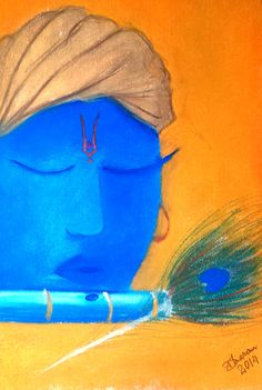 the krishna.. soft pastel