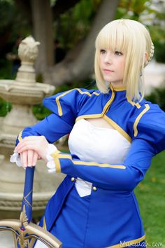 Saber (by ~maridah on deviantART) | Fate/Stay Night #cosplay #anime