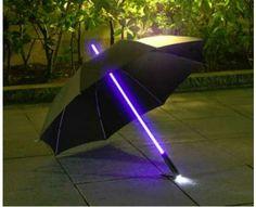 Light Saber Parasols. Ok I want this NOW!