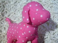 Victoria's Secret PINK polka dot Dog by ♡♥Ashlynn's Dreaming♥♡, via Flickr