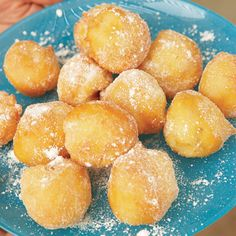 Vanilla-Scented Beignets | Food & Wine -don't toss with granulated ...