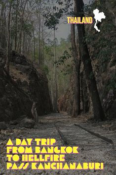 Take a day trip from Bangkok and learn about the WW2 history of Thailand. The Burma Death Railway, Hellfire Pass and the Bridge over the River Kwai in a day trip from Bangkok    Kanchanaburi | Thailand | Bangkok | Day tour | WW2 | History | Asia | Hell Fire Pass | Death Railway     #Asia #travel #familytravel #Thailand #ww2 #history via @wyldfamtravel