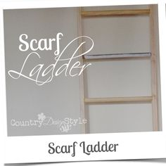 scarf ladder country