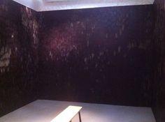 Anya Gallaccio - Works | Thomas Dane Gallery. DARK COURVERTURE CHOCOLATE, VEGETABLE FAT, CARD, GALLERY BENCH