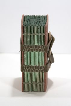 I need to learn this stitch -- artist's book by Mary Uthuppuru