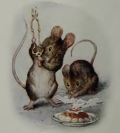 Two Bad Mice by Beatrix Potter...reminds me so much of Bell & G!!!