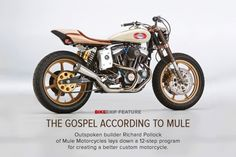 Interesting read- definitely worth a pin. Building a cafe racer