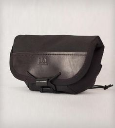 Leather and Black Cordura Hip Pouch by 1.61 Soft Goods on Scoutmob Shoppe NEED!