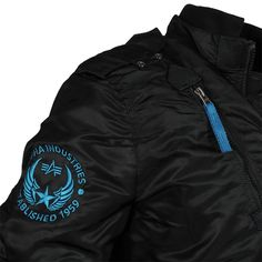 ALPHA Industries Falcon II Jacke Black