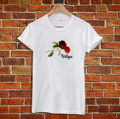 Vintage Red Roses T Shirt