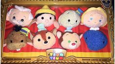 D23 Pinocchio Tsum Tsum Box Set - Limited to 2000