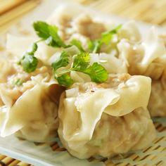 Dim Sum - Pork Or Turkey Dumplings Recipe