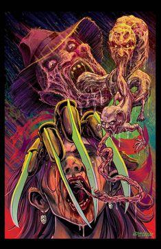 Awesome Art We've Found Around The Net: The Evil Dead, The Matrix, Yoda - Movie News | JoBlo.com