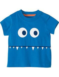 Monster Tee from #HannaAndersson.