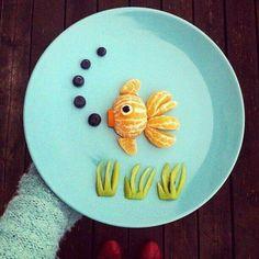 Under the sea fruit salad