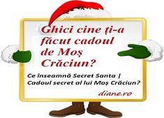 Tradiția occidentală Secret Santa a început să se răspândescă de câțiva ani și în România. Aceasta presupune ca fiecare persoană dintr-un gr... Secret Santa, Blog, Movies, Secret Pal, Blogging