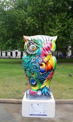 CLASH OWL. big Hoot 2015 Birmingham. raised 7,000 pounds at the auction