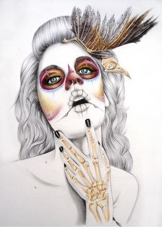 """""""My Feathered Death"""" by Kelly Durette, via Flickr"""