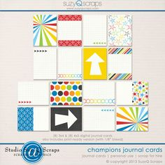 Champions Journal Cards love the rainbow