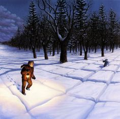 Wonderful Illusions Painted By Robert Gonsalves - UltraLinx