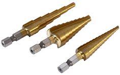 Hitommy 5Pcs 3-10Mm Tire Repair High Carbide Cutting Tool Drill Reamer Bit Burr