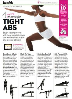 Get tight abs with these 4 surprising exercises