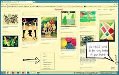 pinterest and lesson planning- printing out pins
