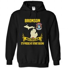 Bronson - Its where my story begins! - #gift tags #student gift. WANT => https://www.sunfrog.com/No-Category/Bronson--Its-where-my-story-begins-1549-Black-Hoodie.html?68278