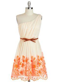 Cute off the shoulder dress!