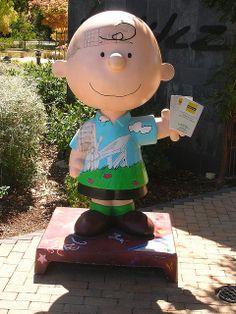 Charlie Brown at Charles Schulz Museum, Santa Rosa, California by Curtis Cronn