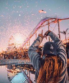 Santa Monica pier Pinterest: ||• ISayPerhaps •||