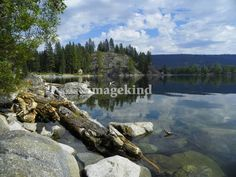 """""""Payette Lake - McCall Idaho"""" by Photography Moments, Boise // Payette Lake McCall Idaho, Payette National Forest // Imagekind.com -- Buy stunning, museum-quality fine art prints, framed prints, and canvas prints directly from independent working artists and photographers."""