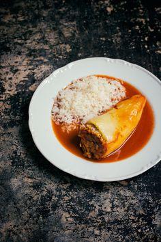 Tofu, Panna Cotta, Ethnic Recipes, Red Peppers, Dulce De Leche