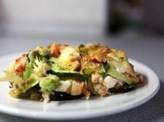 Zeleninová lasagne bez cestovín (bezlepková)
