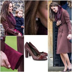 Kate chose to recycled her 2012 Christmas outfit (which was also in the same place as today) £369 Hobbs 'Celeste' brown coat. She teamed it with ASOS Faux Fur Mini Slot Collar. She paired the coat with her £267 Tod's Pumps with Fringes, Queen's diamond and pearl earrings that she loaned several times for her this year, and Mulberry clutch. I expected something new and bright for her. I mean, if she wants to recycled her old coats, she still have others she haven't recycled yet. But i love…