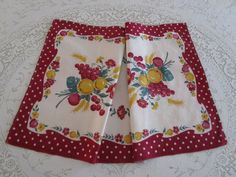 Startex Tea Towel Vintage Vintage Tea Towel by VintageLinenGallery