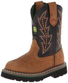 John Deere 2190 Western Boot (Toddler/Little Kid),You Tan Black Top Pull ON,3 M US Little Kid John Deere http://www.amazon.com/dp/B001I90E8A/ref=cm_sw_r_pi_dp_XGBPvb0BJGK8A
