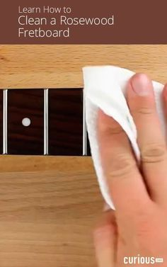 Have a grimy guitar that needs cleaning? In this guitar maintenance lesson, learn how to clean and polish a rosewood fretboard using two different methods. #teachingguitarlessons