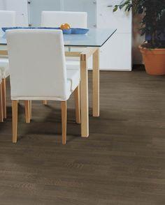 #Polarwood parketti, #OakStone 3-s. Paksuus 14mm, soveltuu lattialämmityksen kanssa. Värisilmä, www.varisilma.fi Bauhaus, Entrance, Taupe, Dining Chairs, Living Room, Bedroom, Furniture, Home Decor, Beige