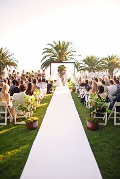 ceremony—gorgeous California location