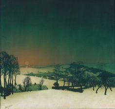 Snow in Flanders - Valerius De Saedeleer
