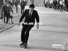 we are agile.
