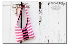 DIY : un sac à bandoulières réversible et graphique « Blog de Petit Citron