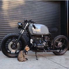Cafe Racer Parts, Cafe Racer Girl, Bmw Cafe Racer, Bike Bmw, Cafe Bike, Moto Bike, Cafe Racing, Auto Racing, Ducati Motor
