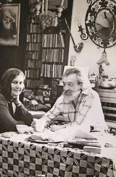 Ileana and Romulus Vulpescu, Romanian writers Authors, Literature, Writer, Couple Photos, People, Beautiful, Bass Drum, Romania, Literatura