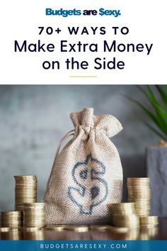 Looking for ways to make extra money? Check out this great list of ways to make extra money on the side. Ways To Save Money, Money Saving Tips, How To Make Money, Money Tips, Make Money From Home, Make Money Online, I Hate Work, Pick Up Trash, Financial Goals