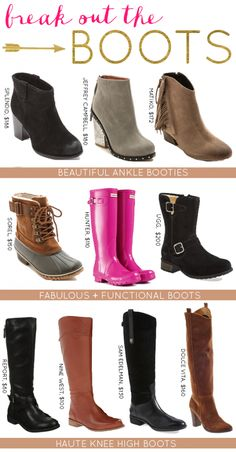 Break Out the Boots: 10 Fabulous Fall Boots
