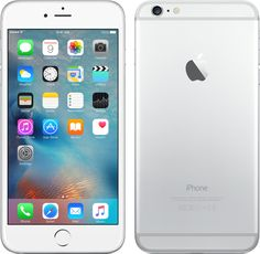 16-GB iPhone 6 Plus, zilver  http://store.apple.com/xc/product/MGA92ZD/A