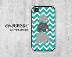 Elephant Chevron iPhone 4 Case iPhone 4s Case iPhone 4 by CasePort, $6.99