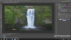 "Como crear Gif Animado ""Cascada en Movimiento "" con Photoshop Cs6"
